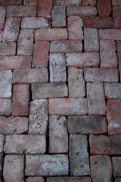 I'm going to use a pile of old bricks I have in the yard to do this somewhere... but where?