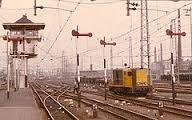 nederlandse seinen - Armseinen met bedienpost Trains, Dutch, Dutch Language