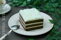 No Cook Desserts, Vanilla Cake, Mousse, Food And Drink, Cooking, Sweet, Kitchen, Cakes, Sweet Desserts