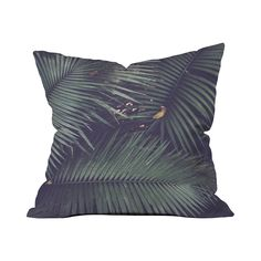 Add tropical inspiration to any space with the cool, modern look of this Fronds Accent Pillow. Designed for the sofa, bed or the floor, this square pillow is decorated with iconic palm fronds overlappi...  Find the Fronds Accent Pillow, as seen in the #TropicalAllure Collection at http://dotandbo.com/collections/tropicalallure?utm_source=pinterest&utm_medium=organic&db_sku=108264