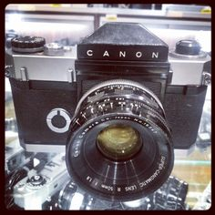The Canoflex, the first 35mm SLR camera from #Canon. Introduced in May 1959