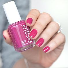 Go for broke. This divine violet infused red nail polish looks like a million bucks. Sassy, flashy and rich, this lush lacquer declares: if you got it, flaunt it.