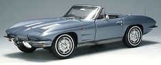 1963 Corvette Sting Ray Convertible ...My dad had one of these for  awhile, dark green.  I Lo-ha-hoooved that car.  Always wanted to drive it, but never did.