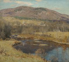 "Willard Leroy Metcalf (1858-1925), ""The North Country"" - The Metropolitan Museum of Art ~ New York, New York, USA"