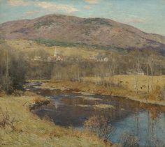 "Willard Leroy Metcalf (1858-1925), ""The North Country"" - The Metropolitan Museum of Art ~ New York, New York, USA"