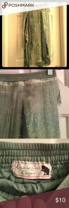 Shimmery Fairy Skirt Good for costumes and cosplay! Worn once. Skirts
