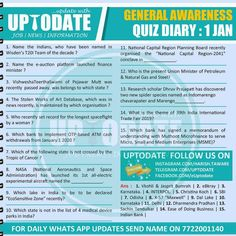 General Awareness #Quizdiary : 01 Jan World Toilet Day, Pipeline Project, Gas Pipeline, Planning Board, Research Institute, Human Development, Finance, Writer, Organization