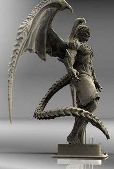 ArtStation - Dragonewt, keita okada