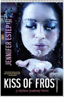 Kiss Of Frost - Saga Mythos Academy - Jennifer Estep Ya Books, Books To Read, Mythos Academy, Saga, Live By The Sword, Kensington Books, Winter Beauty, Fantasy Books, Book Nooks