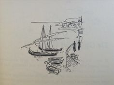 Vasiliu - Greek Boats (Forever Old, Forever New by Emily Kimbrough, Heinemann, 1965)