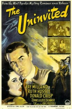 The Uninvited Poster Movie 27x40 Ray Milland Ruth Hussey Donald Crisp Pop Culture Graphics http://www.amazon.com/dp/B000KA3U4I/ref=cm_sw_r_pi_dp_t5m7ub0GKG5AE