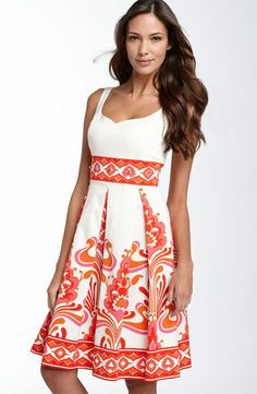 I need to start sewing so I can make myself a dress like this..sadly, it's not available to buy..so pretty!