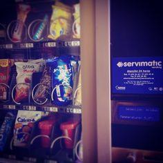 Servimatic máquinas expendedoras automáticas vending dispensadoras de snack