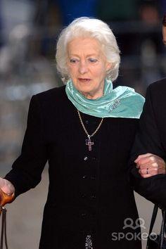 Frances Shand - mother of Princess Diana.