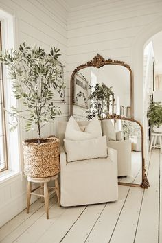Home Remodel Living Room Get The Most Beautiful Mirror In The World For Free.Home Remodel Living Room Get The Most Beautiful Mirror In The World For Free Gold Floor Mirror, Mirror Mirror, Floor Mirrors, Antique Floor Mirror, Corner Mirror, Mantle Mirror, White Mirror, Mirror Ideas, Fireplace Mantel