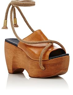 SIMON MILLER Rope-Detail Clogs - Wedges - 504695717