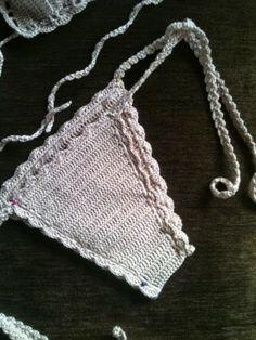 Pretta Crochet: Biquini de crochet