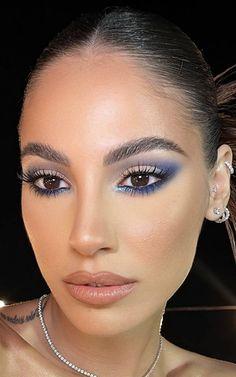Fancy Makeup, Rave Makeup, Eye Makeup Art, Night Makeup, Smokey Eye Makeup, Glam Makeup, Skin Makeup, Makeup Trends, Makeup Inspo
