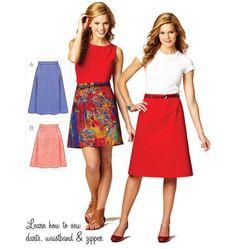 K3877 Misses Skirt | Easy
