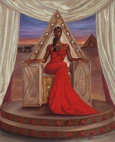 African American Art - buy posters of black women Black Love Art, Black Girl Art, My Black Is Beautiful, Art Girl, Beautiful Soul, Beautiful Ladies, Red Black, Black Queen, African American Art
