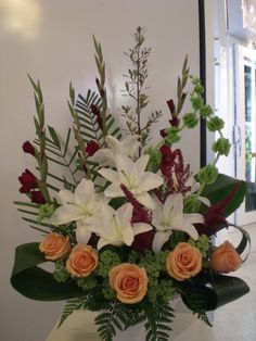 http://www.unny.com beautiful funeral flowers arrangement
