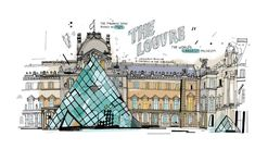 An Illustrated Look at the Most Famous Buildings in Paris | Time