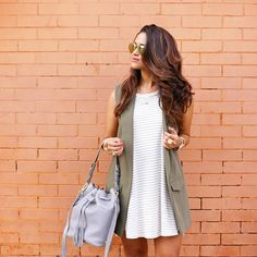 """Jennifer Palpallatoc on Instagram: """"So excited to bring back the @giginewyork Jenn Bucket Bag for another season in all new colors for Fall! How pretty is this slate?! I'm also in love with the Bone color too! Get more handbag & outfit details on the blog hauteofftherack.com @liketoknow.it www.liketk.it/1GPBm #liketkit #jennbucketbagtravels cc: @shopbellac  by @kaelar"""""""