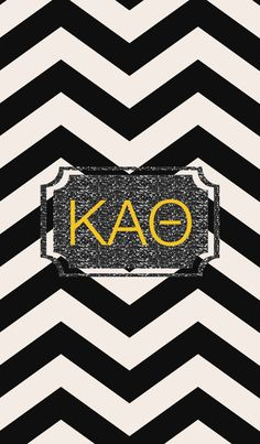 Kappa Alpha Theta iPhone monogram background