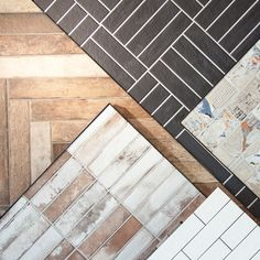 Bricks  Here's some lay pattern ideas for your next project. Selecting tiles is one thing but deciding on the lay pattern and grout colour is also just as important to achieve the ideal space. If you'd like some advice, book an in store consultation online today!  >>