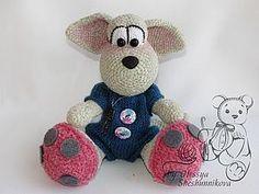 Вяжем мышонка Дидл крючком - Ярмарка Мастеров - ручная работа, handmade