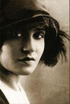 Tina Modotti (1896-1942) -  Italian photographer, model, actress, and revolutionary political activist.