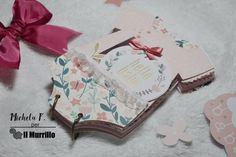Mini Album Baby a cura di Michela Favalli Baby Body, Mini Albums, Mini Scrapbooks