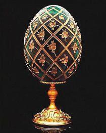 Imperial Rose Trellis Egg by * Carol * Fabrege Eggs, Faberge Jewelry, Rose Trellis, Egg Crafts, Egg Art, Egg Shape, Objet D'art, Russian Art, Ceramic Art