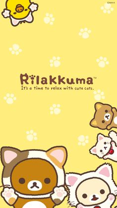 Quickly put small fresh Rilakkuma Wallpaper for your phone now! In pictures!