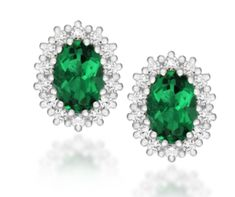 A beautifully impressive set of stud earrings crafted in sterling silver set with green and white crystals Cluster Earrings, Stud Earrings, Online Shopping, Earring Crafts, Crystal Cluster, Silver Jewelry, Ebay, Jewels, Sterling Silver