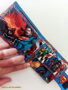 "Cartera de papel ""Superman"""