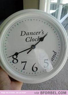 A Clock For Dancers…