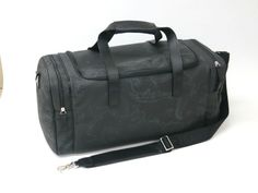 PRIMA CLASSE Boston Bag Leather PVC Black(BF042967)