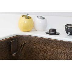 SideKick Sponge Assistant 2 In. Magnetic Multi Holder In Antique Copper For  Kitchen Sinks