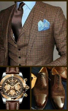 Love the baby blue and brown