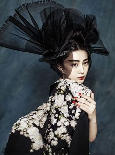 Fan Bingbing by Chen Man on Marie Claire China, January 2015
