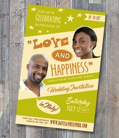Retro Pop UK - Love and happiness with a photo of the couple - ahhhh sheer bliss