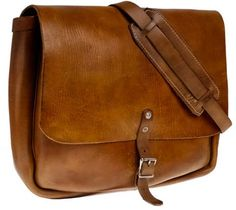 leather postman bag