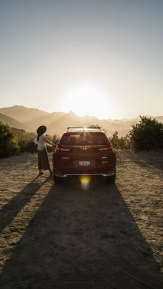 Hop in. There's a whole world to see in the Honda CR-V Hybrid. Roof Rails, Cr V, Honda Cr, Black Side, Electric Motor, Rear Seat, Touring, Exterior, World
