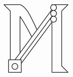 Steampunk Letter M - Uppercase_image Types Of Embroidery, Cross Stitch Embroidery, Embroidery Patterns, Hand Embroidery, Optimus Prime Costume, Rescue Bots, Urban Threads, Graffiti Alphabet, Lettering Styles
