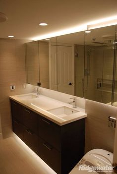 Finished Classic Bathroom, Bathroom Renos, Bathroom Lighting, Mirror, Vancouver, Furniture, Home Decor, Bathroom Light Fittings, Bathroom Vanity Lighting