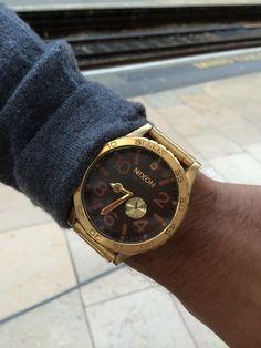 Nixon watch at Paddington Station, London | Watches & Fashion | WTCH