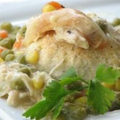 Chicken and Biscuit Casserole Allrecipes.com