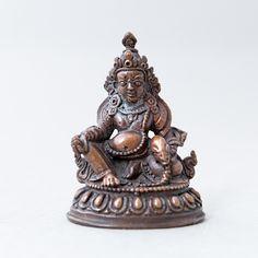 DZAMBALA COPPER STATUE, 2 INCHES #resources #inner #outer #wealth https://www.vajrasecrets.com/dzambala-copper-statue-2-inches