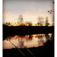 A perfect sunrise #baittech #richardhandel #photography #carpfishing #poloniboilies #tfgear #fishtec #godmanangling